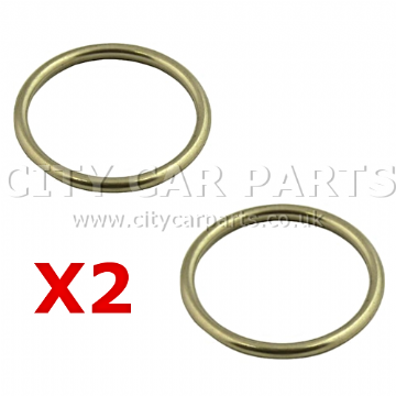 2 X HONDA  ACCORD CIVIC  PRELUDE SHUTTLE CR-V HR-V FRONT DOWN PIPE EXHAUST GASKET